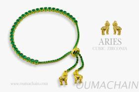 ARIES 925純銀寶石手鍊