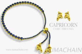 CAPRICORN 925純銀寶石手鍊
