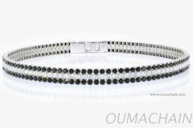 B1535SWSR 925純銀手環寶石鍊