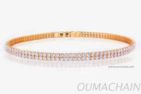 B1525WHP 925纯银手环宝石链