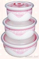 陶瓷密封保鮮碗組