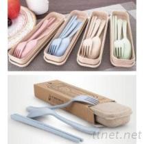 小麦环保餐具组