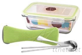 保鮮盒+餐具組