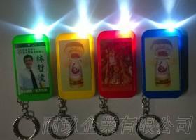 手机型LED锁圈