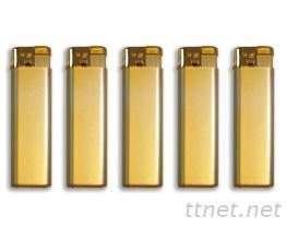 金色電子打火機