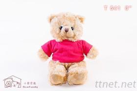坐姿20公分 T-shirt 小熊