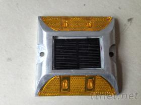太陽能雙面四燈道釘, 深圳反光道釘
