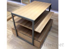 三層展示桌