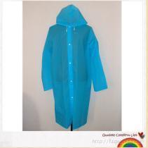 筱丹丹祥 EVA環保雨衣, 時尚半透明磨砂雨披
