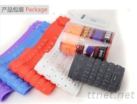 109鍵矽膠軟鍵盤
