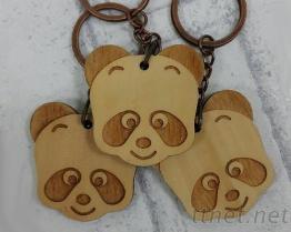 木製造型鑰匙圈/壓克力鑰匙圈