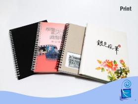 笔记本/便条纸/印刷/ 穿线圈笔记本