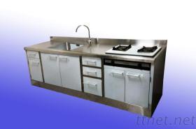 家庭用304不銹鋼廚房設備