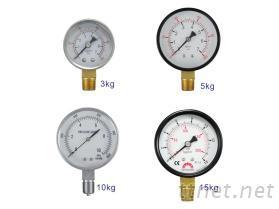 瓦斯压力表(配管用)