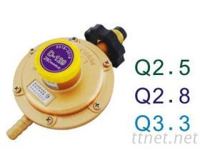 高效能Q2.5、Q2.8、Q3.3系列瓦斯調整器