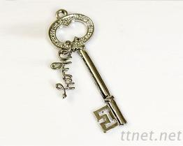 035鑰匙造型飾品配件