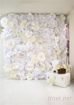 婚禮背景牆裝飾花藝