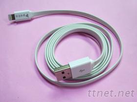 USB AM & I-PHONE 5 傳輸線 白色
