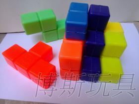 俄羅斯方塊立體拼圖