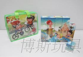 積木拚圖塊, 廣告禮品, 贈品玩具