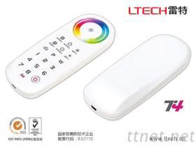 LTECH雷特Led灯条触摸调光全彩RF2.4G无线同步分区RGBW控制器T4