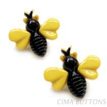 手工藝鈕釦-蜜蜂造型