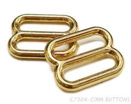 8字調整環(16.5MM)金屬材質-胸罩配件