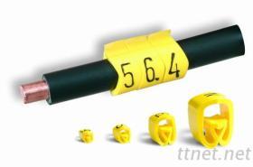 進口線標-高品質 PA 單字符線標