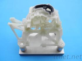 精密汽車配件塑膠射出模具-排檔頭