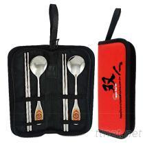 雙人環保筷匙組