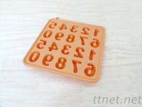 矽膠冰格 食品級矽膠冰格 字母矽膠冰格模具