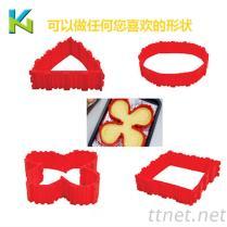 創意新品食品級矽膠蛋糕模 食品級矽膠產品加工