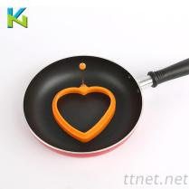 KN-食品级硅胶煎蛋器桃心形状