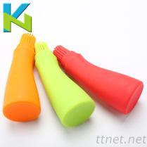 KN-歪嘴瓶裝燒烤油刷 連體燒烤油刷