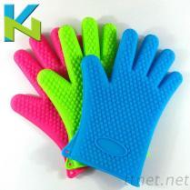 KN-家用廚具隔熱防滑手套食品級矽膠材質