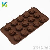 食品級矽膠冰格模具小豬公仔模, 蛋糕模, 烤盤模具, 生活用品矽膠製品