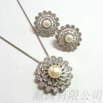 珍珠飾品套組