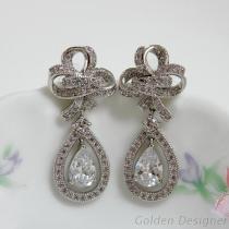 婚禮珠寶耳環