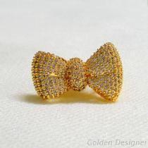 蝴蝶結戒指