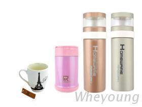 廣告贈品, 不銹鋼保溫杯, 燜燒杯, 骨瓷杯