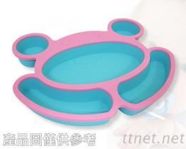 造型矽膠餐盤