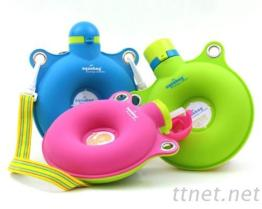甜甜水包包攜帶式矽膠水壺