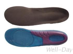 蜂巢式矽膠鞋墊