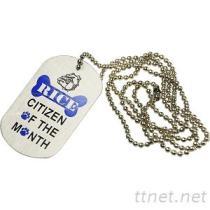 兵籍牌項鍊