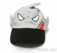 造型鲨鱼童帽