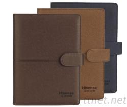 日誌手冊孔夾式精緻雙包豪華本R13系列