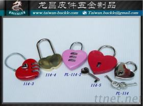 愛心密碼鎖 心型鎖 鑰匙鎖 銅鎖 對鎖