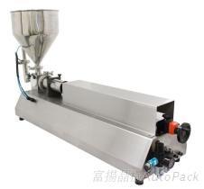 桌上型活塞式液體充填機