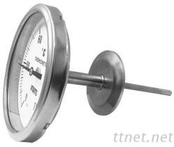 卫生型双金属温度计 (背接型)  BTT-S