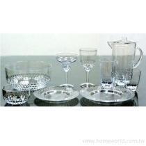 蜂巢沙拉組, 盤, 水杯, 沙拉碗, 低杯, 高杯, 水壺, 高腳杯, 瑪格麗特杯